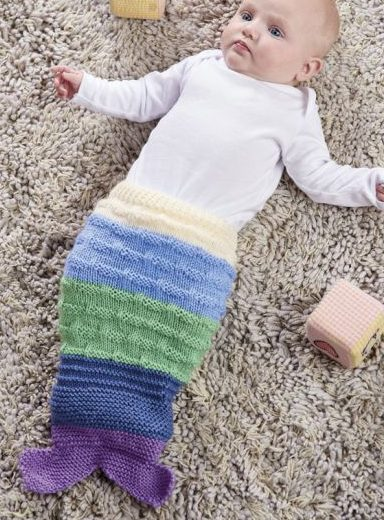 Baby Cocoon Snuggly Sleep Sack Wrap Knitting Patterns In The