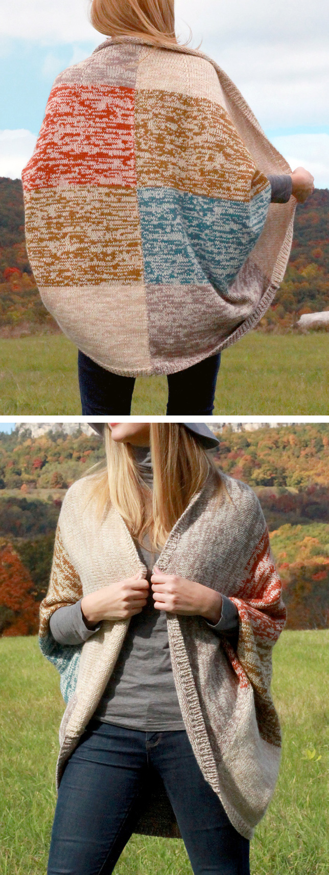 Knitting Pattern for Easy Mezzo Cardigan