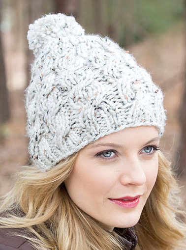 16589ff3b7e Cable Hat Knitting Patterns - In the Loop Knitting
