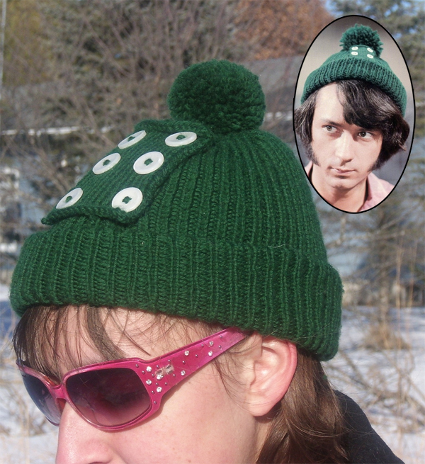 Free Knitting Pattern for Monkees Mike Nesmith Hat