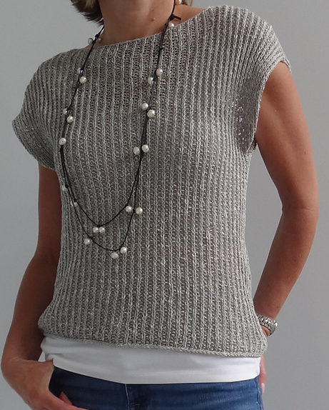 Free Knitting Pattern for Mimic Pullover