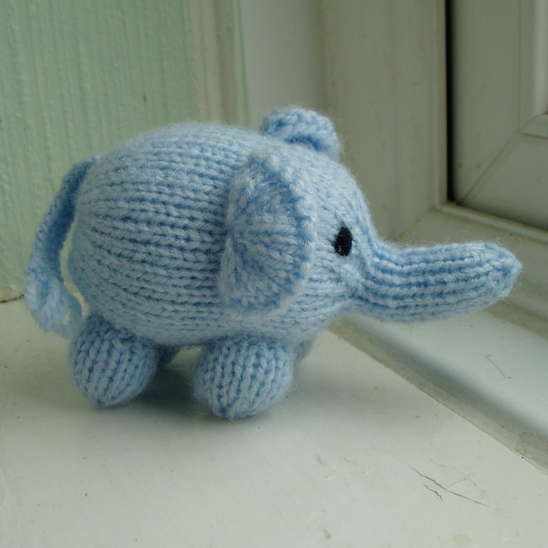 Elephant Knitting Patterns- In the Loop Knitting