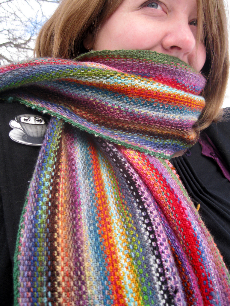 Free Knitting Pattern for Mini Mania Scarf