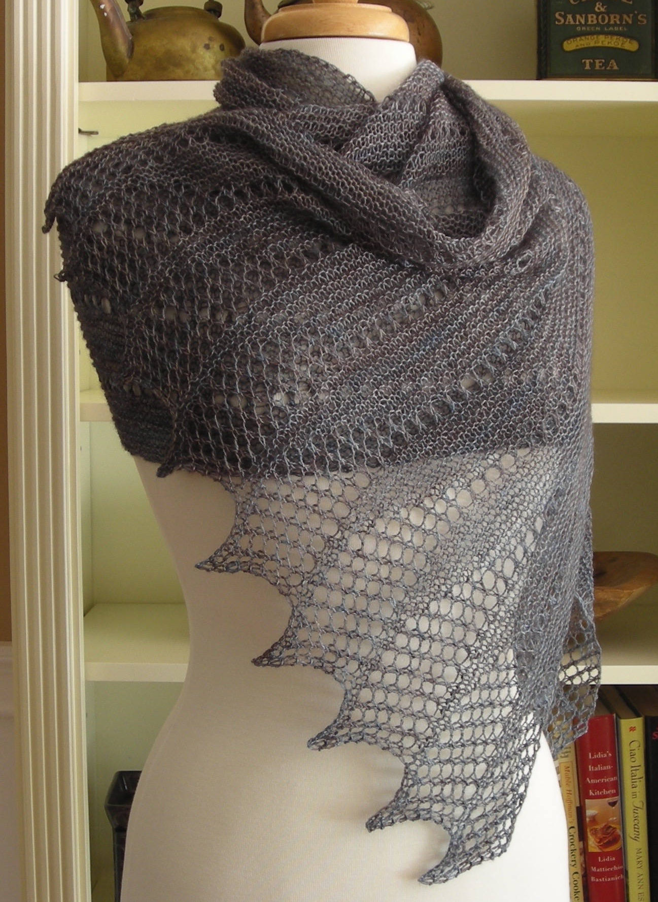 Knitting Pattern for Mistral Wrap