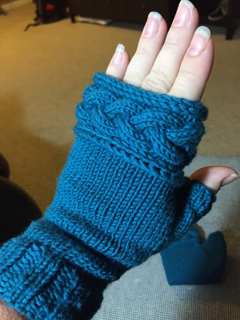 Free Knitting Pattern for Mistress Beauchamp's Mitts