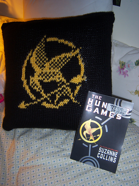 Free Mockingjay knitting chart