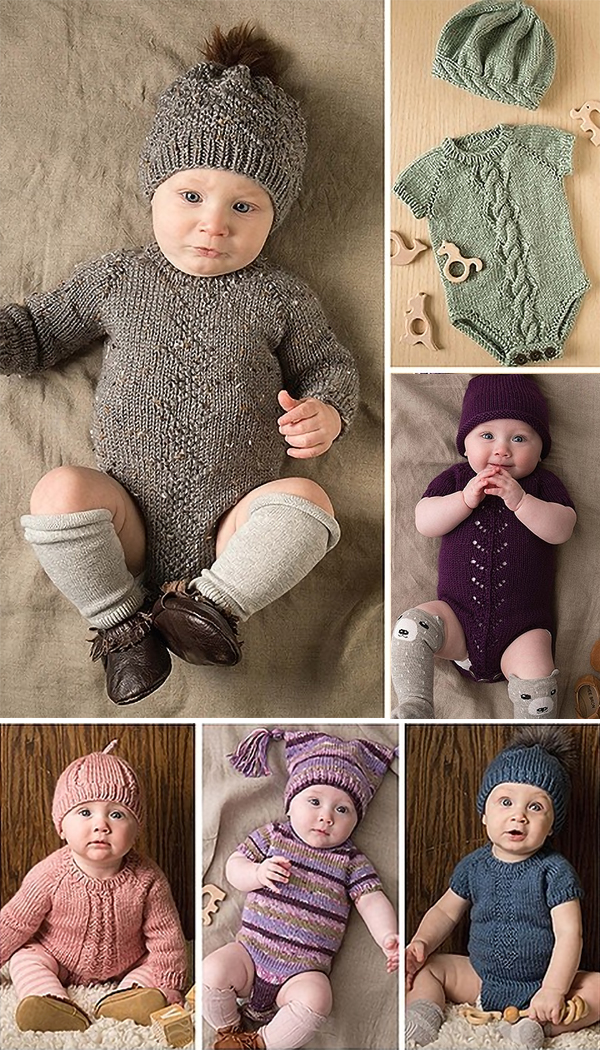 Modern Baby - 6 Knitted Outfits to Warm Your Favorite Crawler