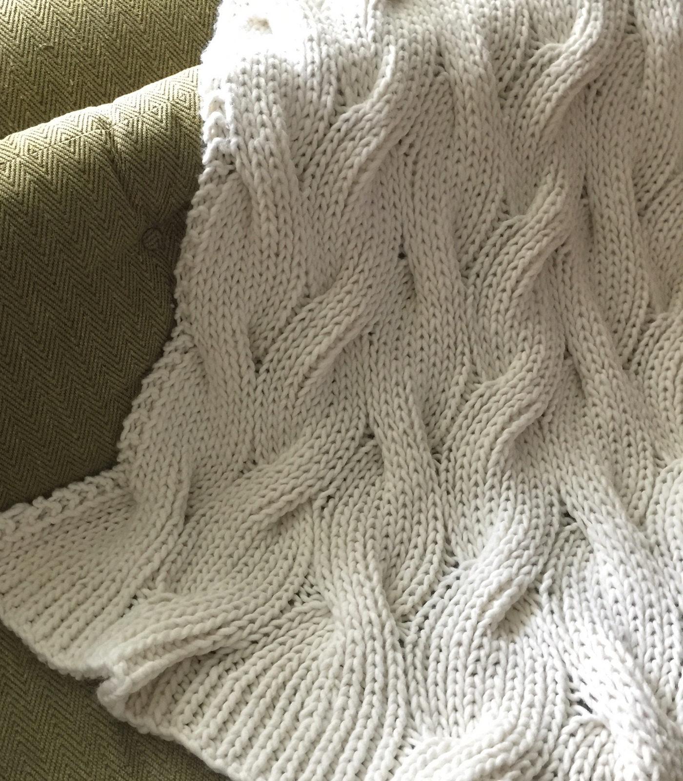 Reversible Blanket Knitting Patterns In The Loop Knitting