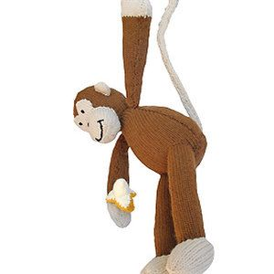 Free knitting pattern for monkey and more wild animal knitting patterns