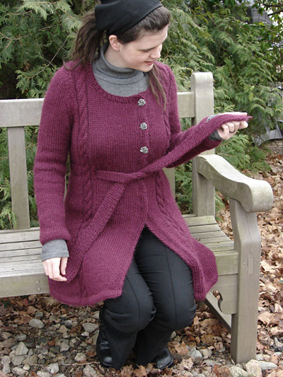 Montera Coat Free Knitting Pattern and more free jacket and coat knitting patterns