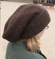 Free knitting pattern for Montgomery Scott's hat