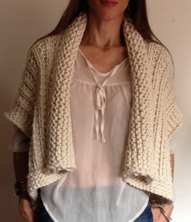 Knitting Pattern for Montreal Cardigan