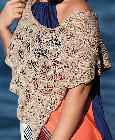 Knitting Pattern for Moonlight Poncho