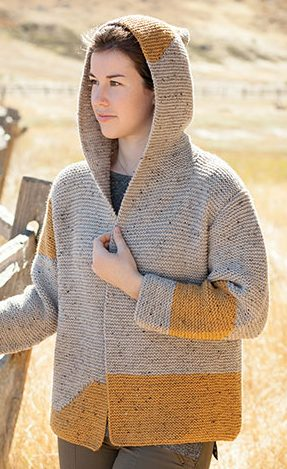 Knitting Pattern for Morecambe Bay Cardi