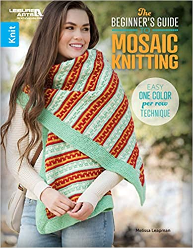 Beginner's Guide To Mosaic Knitting - Easy One Color Per Row Technique