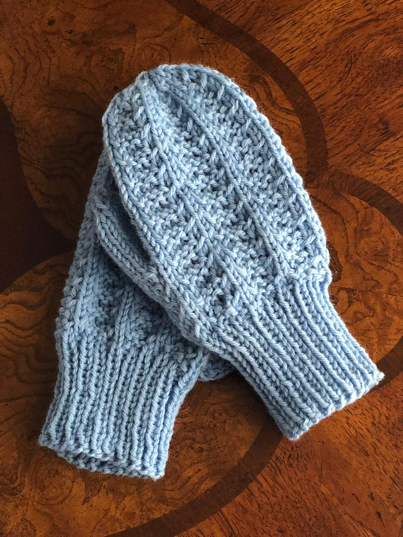 Knitting Pattern for Mountain Hiker Mittens