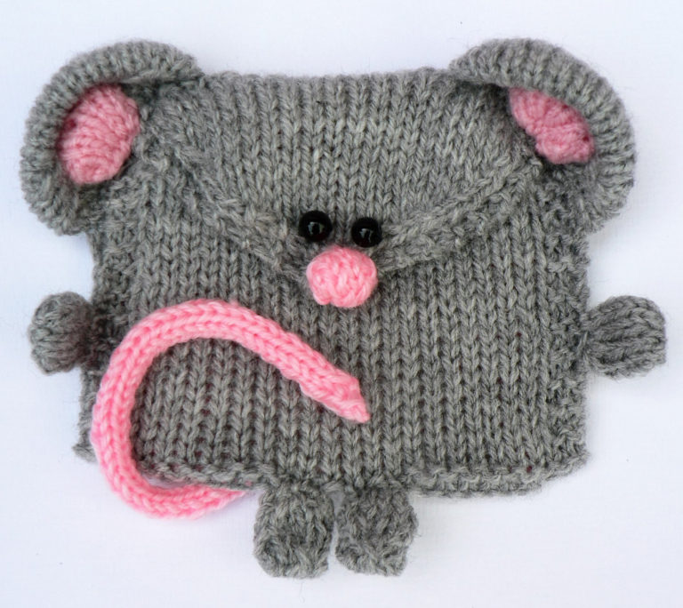 Knitting Pattern for Mouse Purse