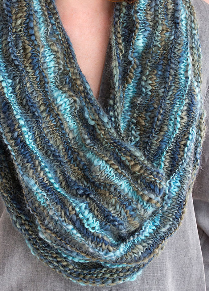 Free Knitting Pattern for Multi-wear Cowl