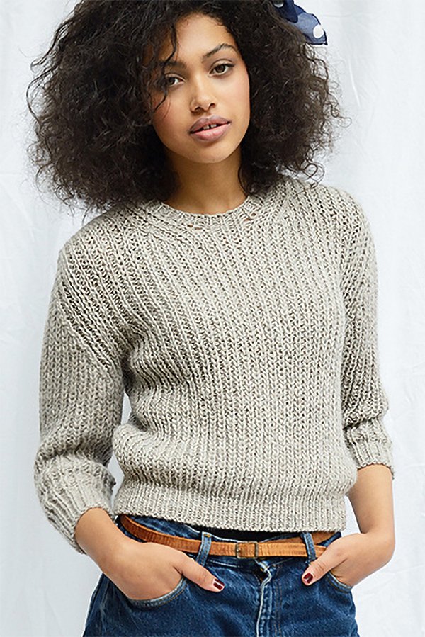 Knitting Pattern for Muna Jumper