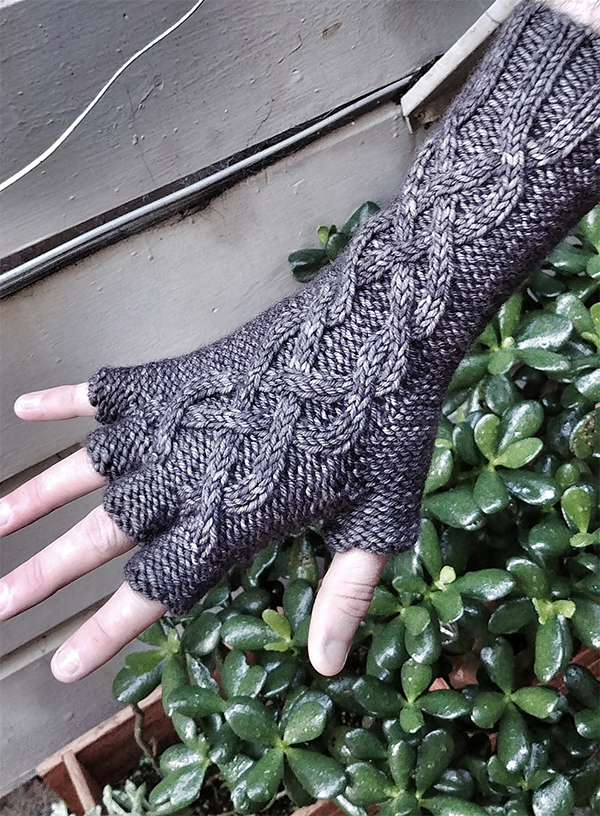 Free until March 15, 2019 Knitting Pattern for Fingerless Gloves