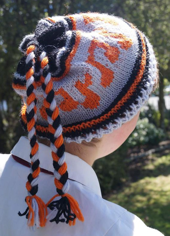 Free Knitting Pattern for Musician Beanie