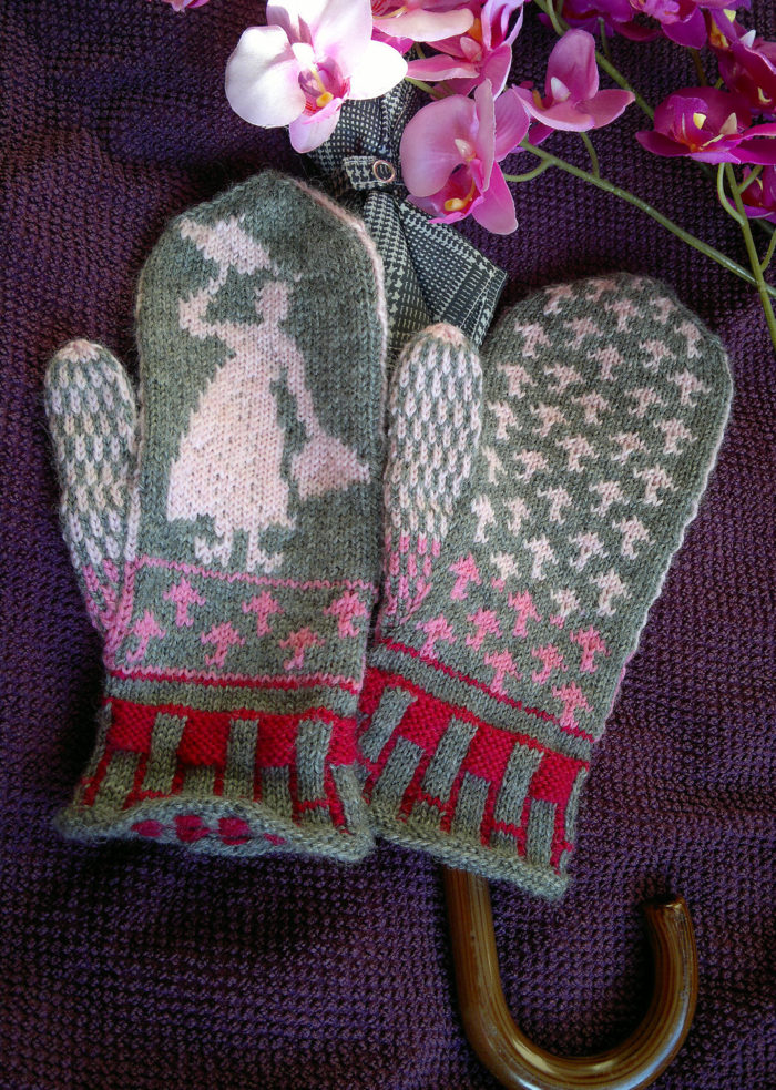 Free Knitting Patterns for Nanny Mittens