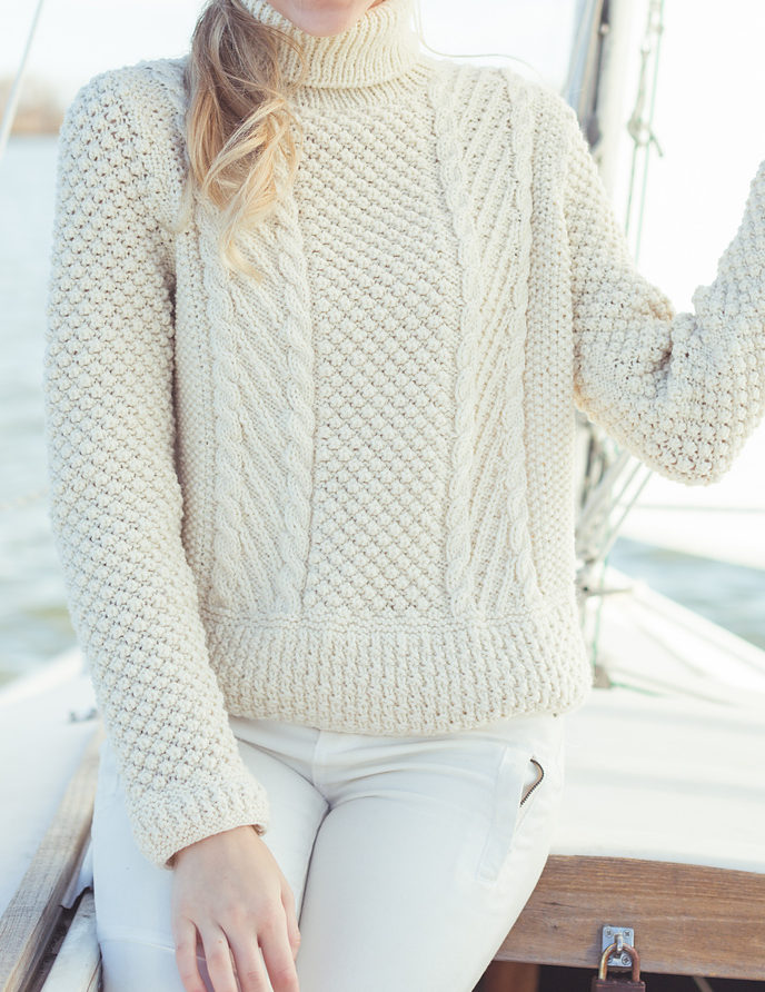Trinity, Berry, Bramble Stitch Knitting Patterns - In the Loop Knitting