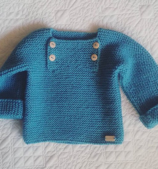 006ee418a Easy-On Pullovers for Babies and Children Knitting Patterns - In the ...