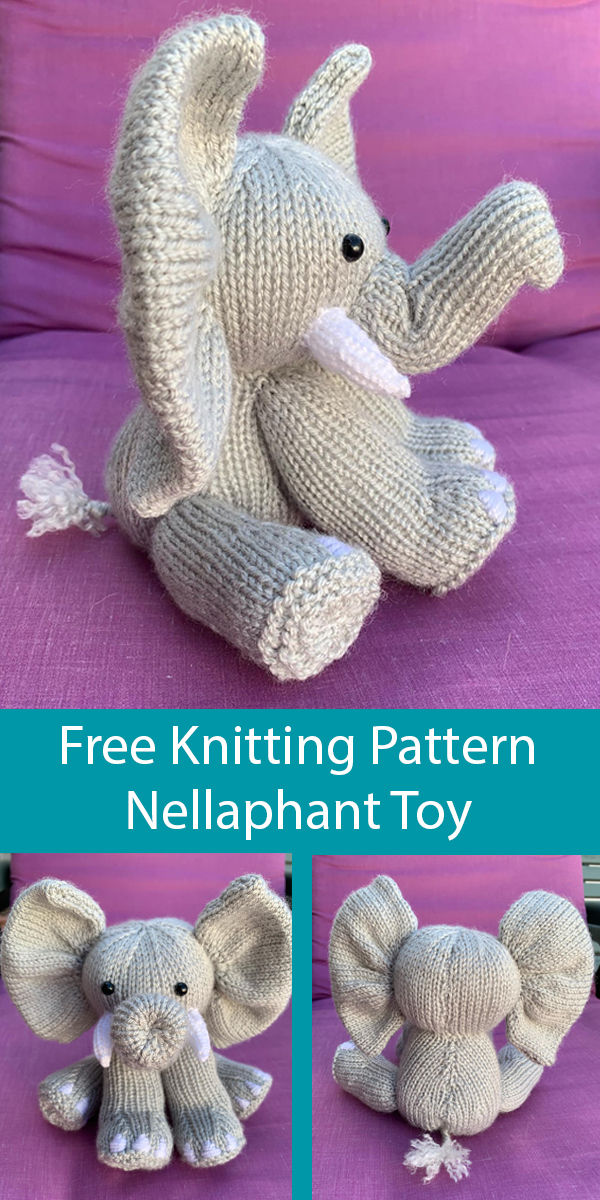 Baby Elephant Crochet Applique Pattern • Kerri's Crochet | 1200x600
