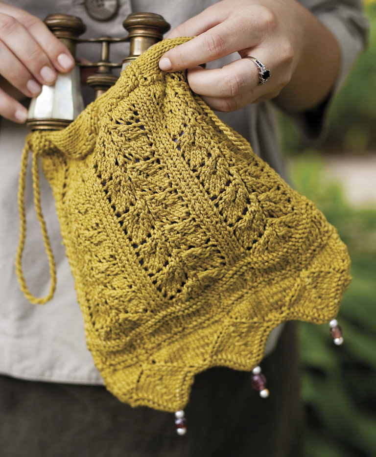 Knitting Pattern for Netherfeld Bag