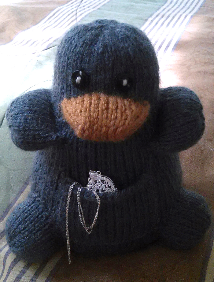 Free Knitting Pattern for Niffler