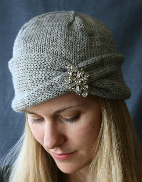 Knitting Pattern for Nola Cloche