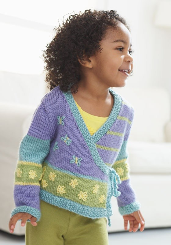 Nordic Kimono Childs SweaterFree Knitting Pattern | Free Baby and Toddler Sweater Knitting Patterns including cardigans, pullovers, jackets and more http://intheloopknitting.com/free-baby-and-child-sweater-knitting-patterns/