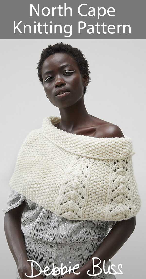 Poncho Knitting Pattern North Cape