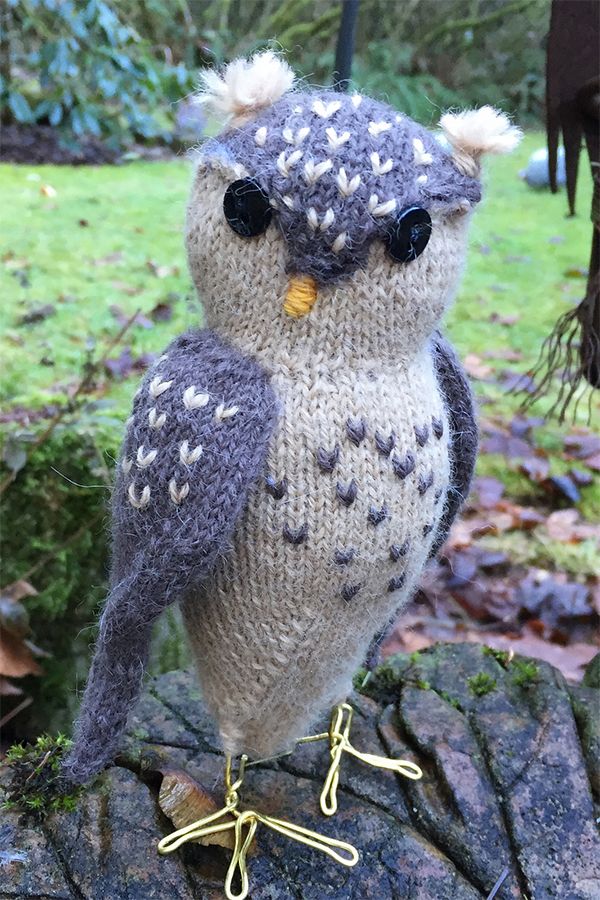 Free Knitting Pattern For Obligatory Owl And More Patterns