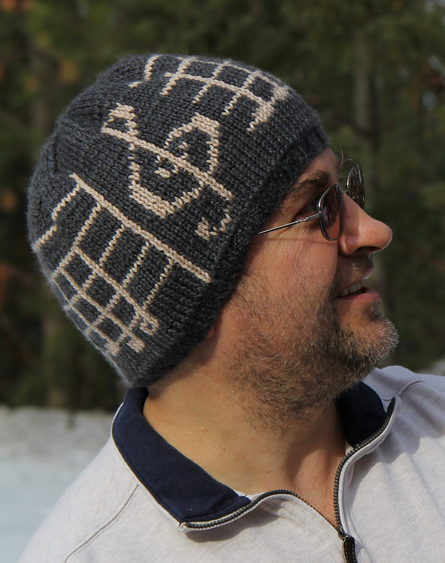 Free Knitting Pattern for Ode to Joy Hat