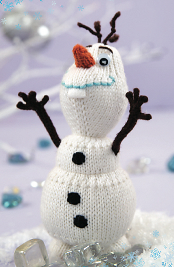 Knitting Pattern for Olaf