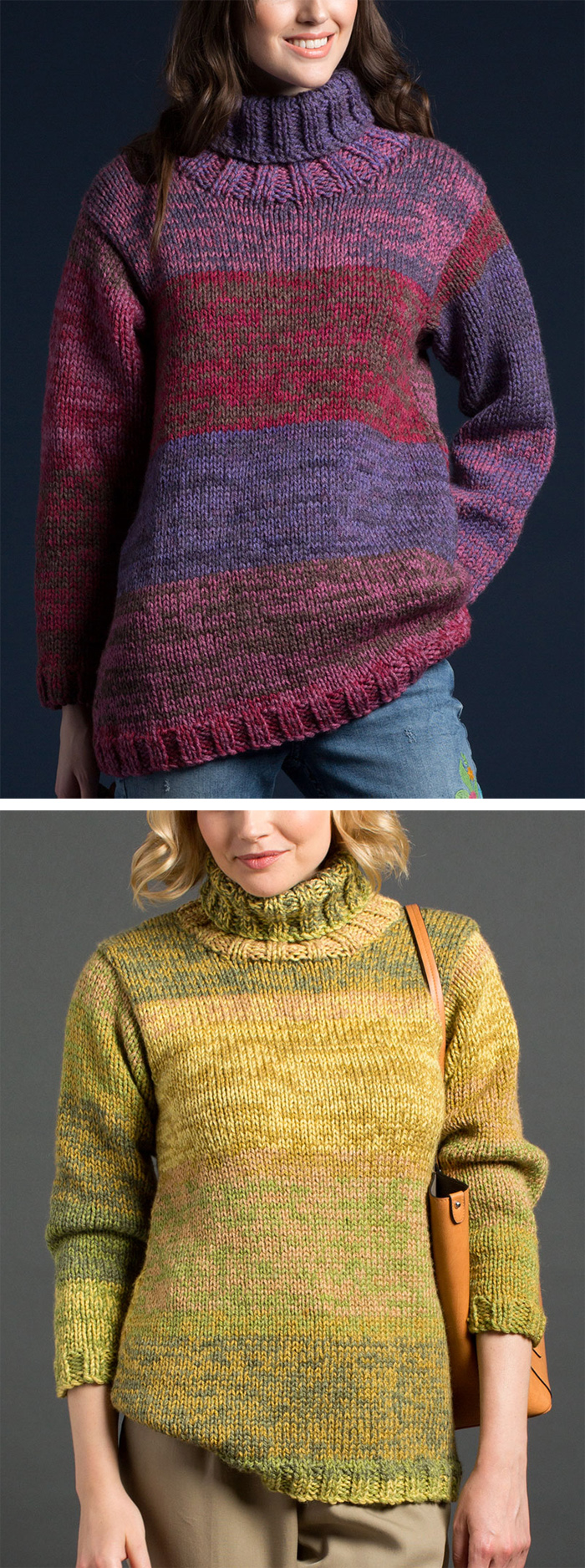 6c582d47a Free Knitting Pattern for Easy On The Double Pullover