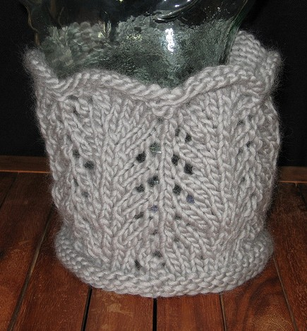 Free knitting pattern for One Hour Cowl and more quick cowl knitting patterns