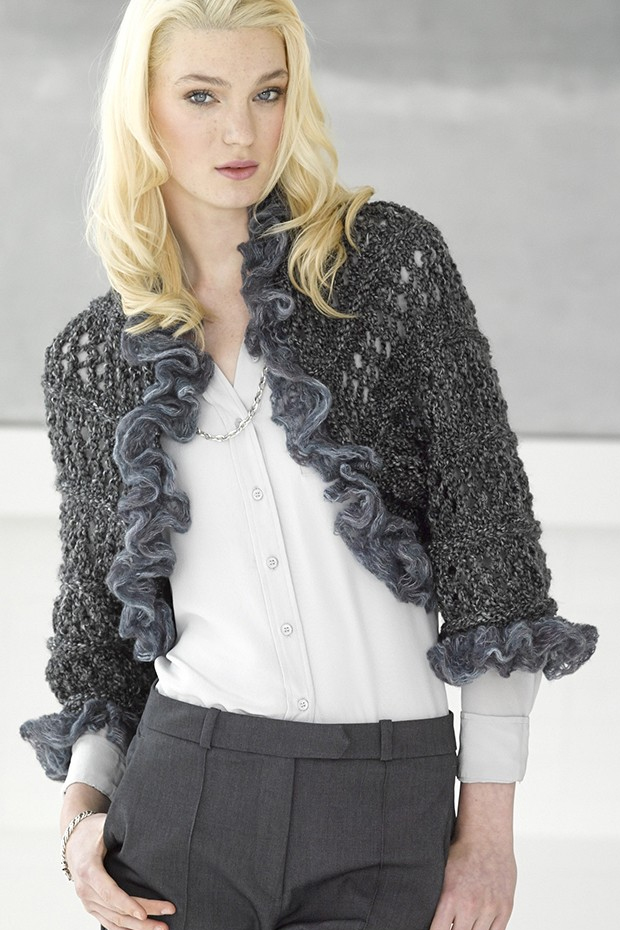 Shrug and Bolero Knitting Patterns- In the Loop Knitting