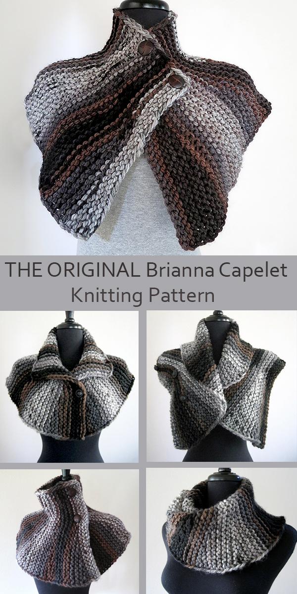 cbf49f37458551 Knitting Pattern for Outlander Inspired Brianna's Capelet