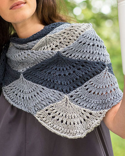 Free Knitting Pattern for Ostro Shawl