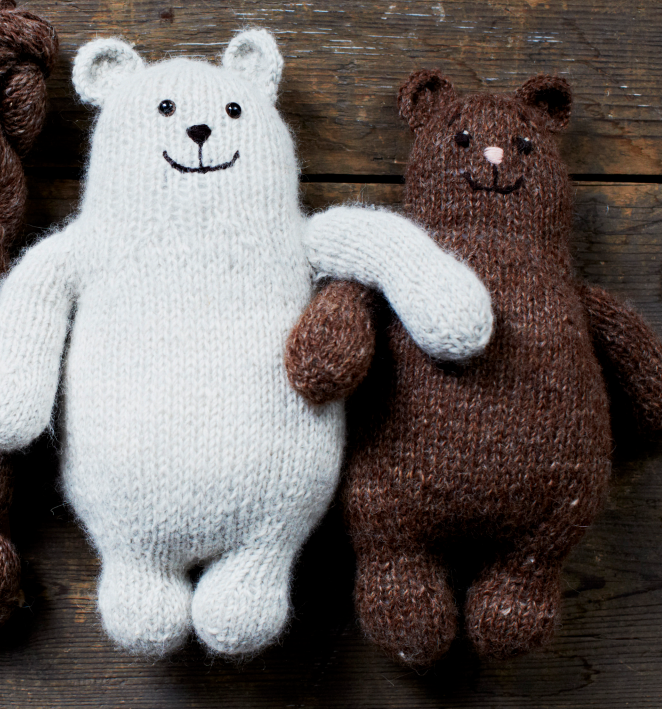 Free Knitting Pattern for Otso Bear Toy
