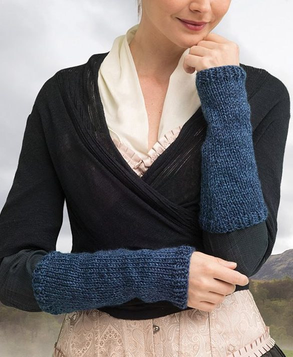 Knitting Kit for Pursuit Of Craigh Na Dun Arm Warmers