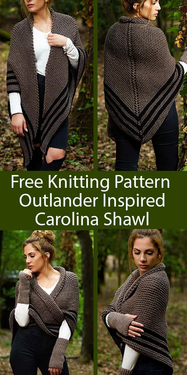 Chunky Outlander gloves KNITTING PATTERN easy knitting pattern outlander fashion chunky arm warmers