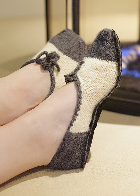 Knitting Pattern for All That Jazz Slippers