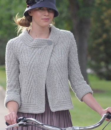 Pan Am Jacket Knitting Pattern
