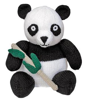 Free knitting pattern for Panda and more favorite bear knitting patterns