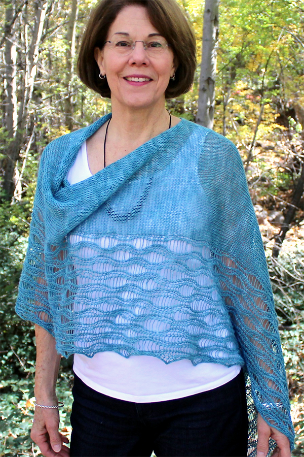 Knitting Pattern for Pankhurst Poncho