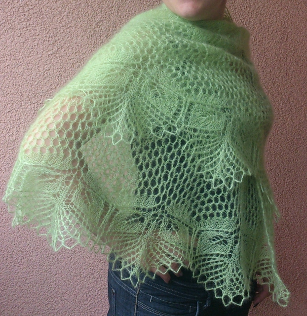 Papyrifera Shawl Free Knitting Pattern